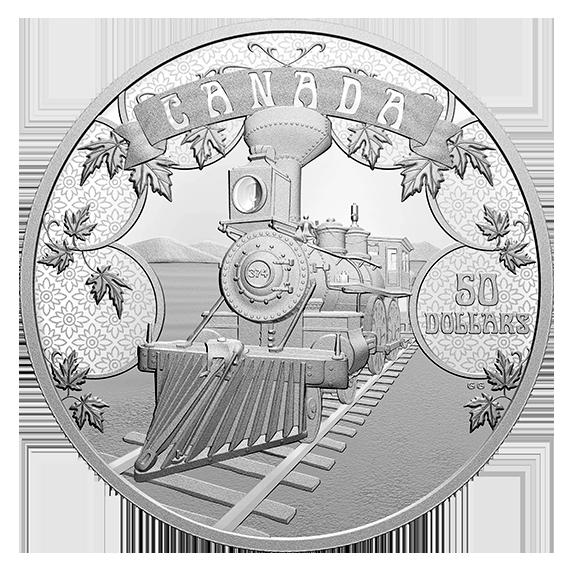 Канада монета 50 долларов Развивающаяся Страна, реверс
