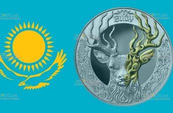 Казахстан монета 500 тенге BUǴY