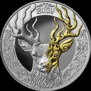 Казахстан монета 500 тенге BUǴY, реверс