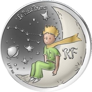 Франция монета 10 евро Маленький принц, реверс