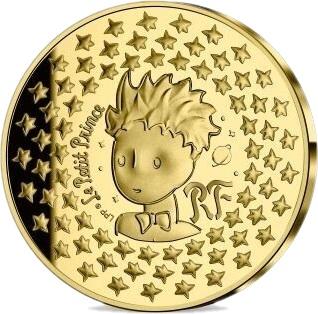 Франция монета 5 евро Маленький принц, реверс