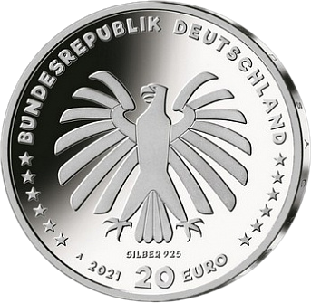 Германии монета Шоу Программа с мышкой, аверс