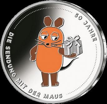 Германии монета Шоу Программа с мышкой, реверс