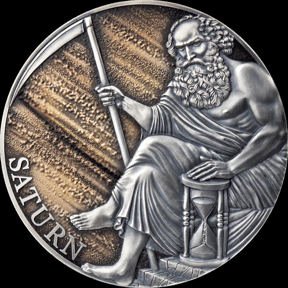 Камерун монета 3000 франков Сатурн, реверс