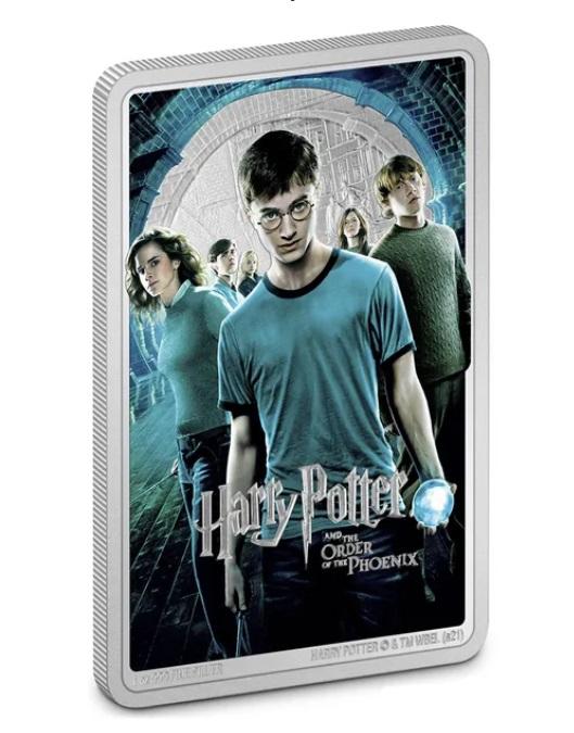 Ниуэ монета 2 доллара Гарри Поттер и Орден Феникса, реверс