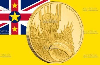 Ниуэ монета 25 долларов Властелин колец