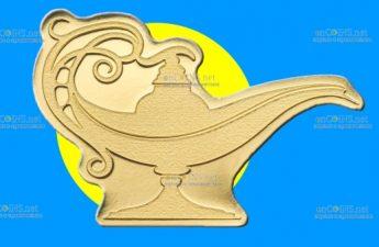 Палау монета 1 доллар Волшебная лампа