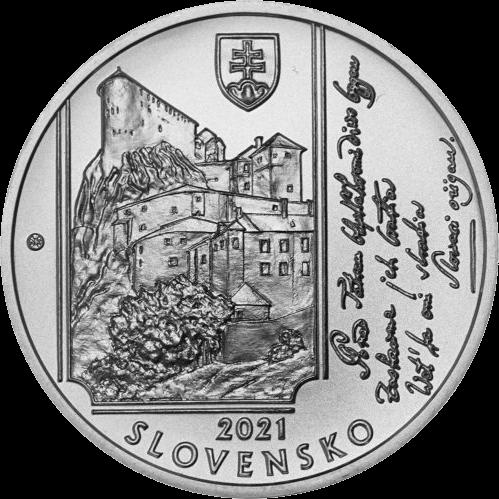Словакия монета 10 евро Янко Матушка, аверс