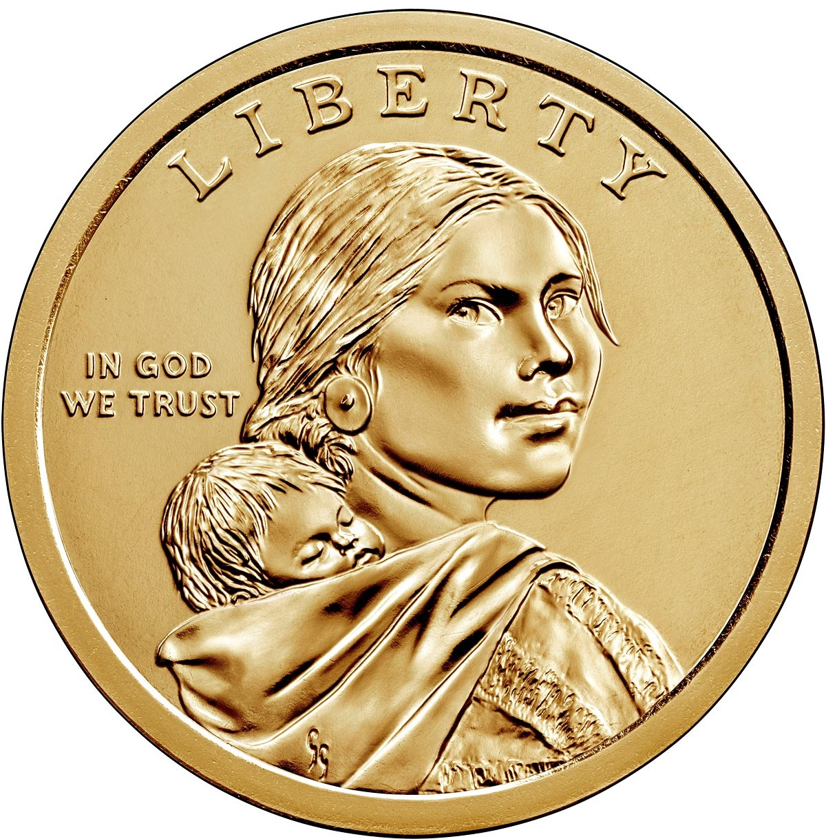 США монета 1 доллар США, 2021 год, реверс