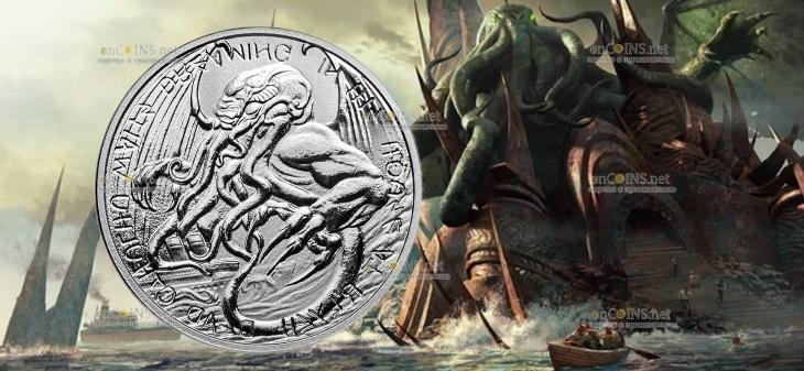 Токелау выпускает монету 2 доллара Ктулху