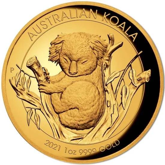 Австралия монета 100 долларов Австралийская коала, реверс