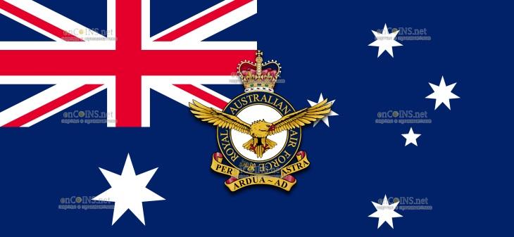Австралия монеты серии 100 лет Королевским военно-воздушным силам Австралии