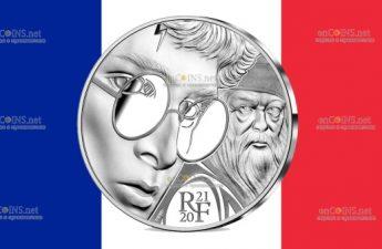 Франция монета 10 евро Гарри Поттер