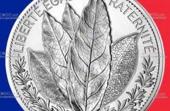 Франция монета 100 евро Лавр