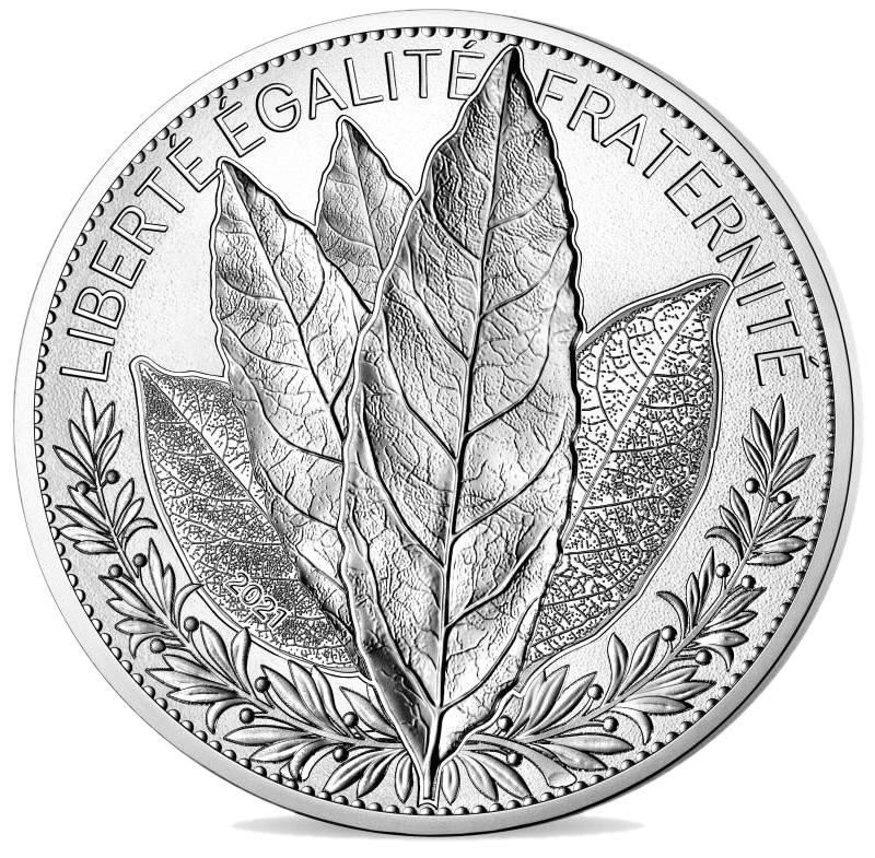 Франция монета 20 евро Лавр, реверс