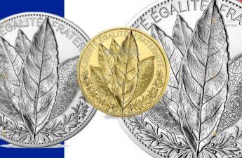 Франция выпускает монеты Лавр, которые выйдут в серии Природа Франции