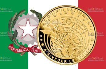 Италия монета 20 евро Данте Алигьери