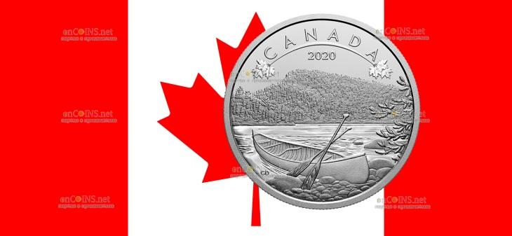 Канада монета 10 долларов Природные просторы