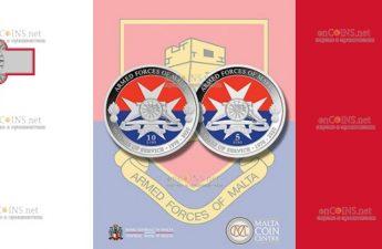 На Мальте выйдут в обращение монеты посвященные 50-летию вооруженным силам Мальты