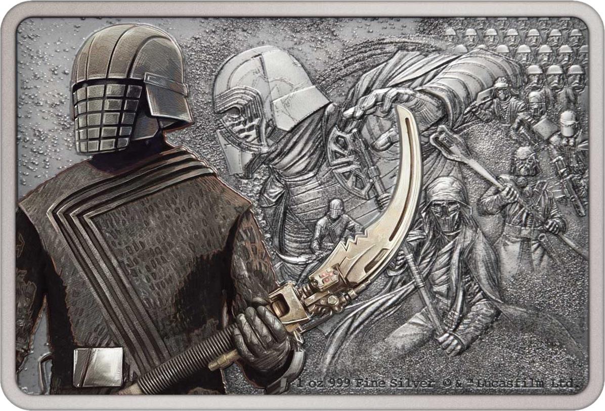 Ниуэ монета 2 доллара Стражи Империи, реверс