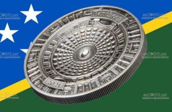 Соломоновы острова монета 10 долларов Пантеон
