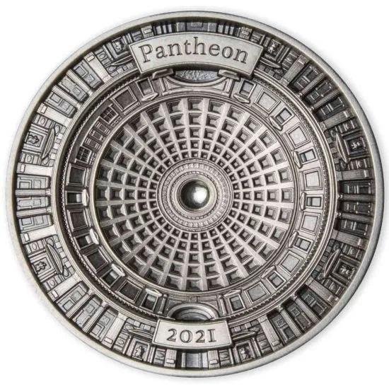 Соломоновы острова монета 10 долларов Пантеон, реверс