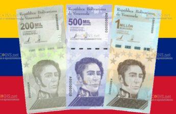 В Венесуэле выходят в обращение новые банкноты