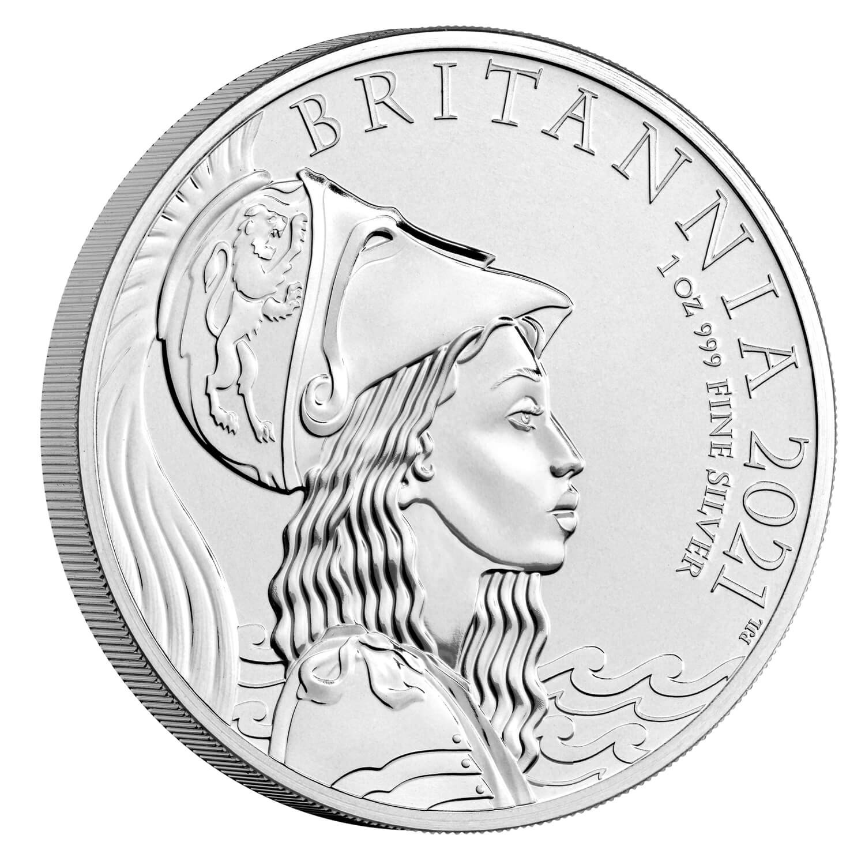 Великобритания монета 2 фунта Британия, реверс