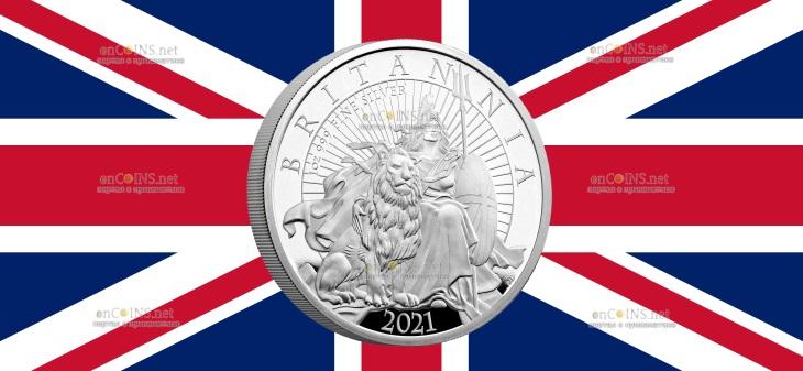 Великобритания монета 2 фунта Британия