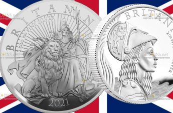 Великобритания выпустит серию монет Британия