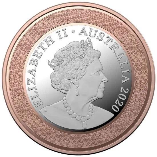 Австралия монета 5 долларов Паралимпийская сборная Австралии, аверс