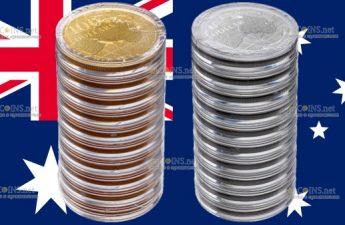 Австралия монеты Под южным небом