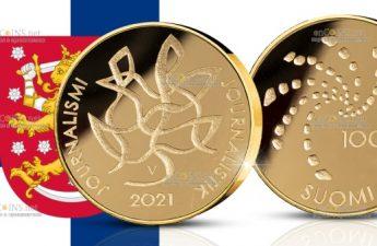 Финляндия монета 100 евро Журналистика