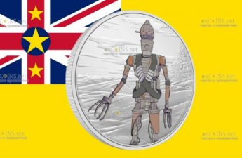 Ниуэ монета 2 доллара Мандалорианец