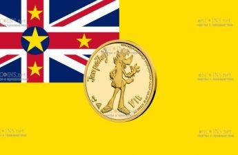 Ниуэ монета 5 долларов Волк