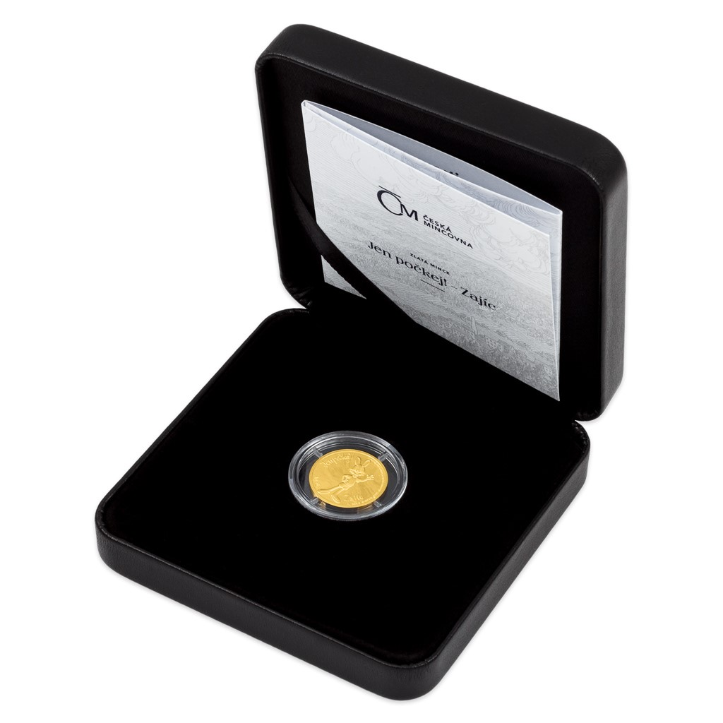 Ниуэ монета 5 долларов Заяц, подарочная упаковка