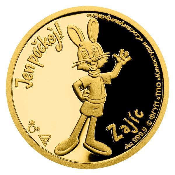 Ниуэ монета 5 долларов Заяц, реверс