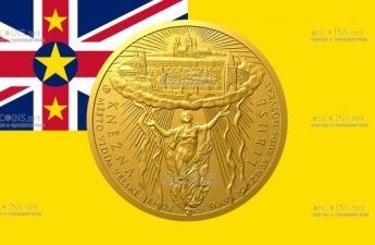 Ниуэ монета 500 долларов Принцесса Либуше
