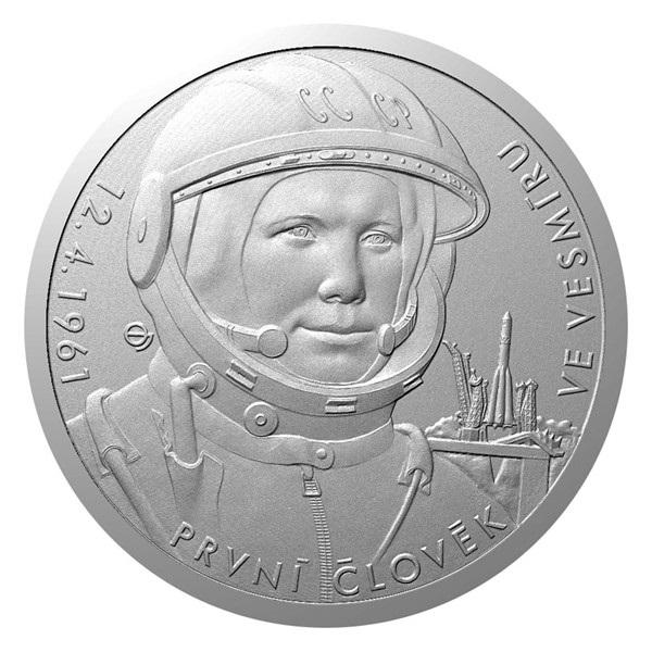 Ниуэ монета 2 доллара Человек в космосе, реверс