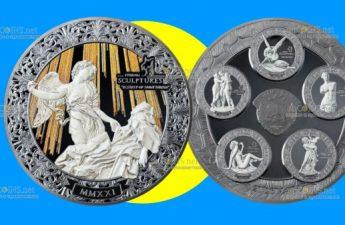 Палау монета 20 долларов Экстаз Святой Терезы