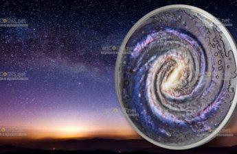 Палау выпускает монету 20 долларов Млечный путь