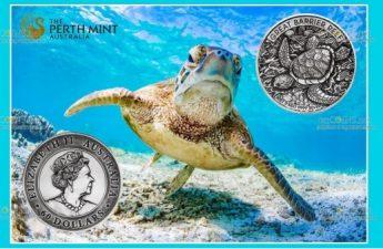 Австралия монета 60 долларов Большой Барьерный риф