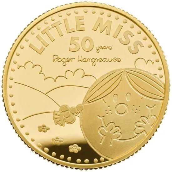 Британия монета 25 фунтов Маленькая мисс Счастье, реверс