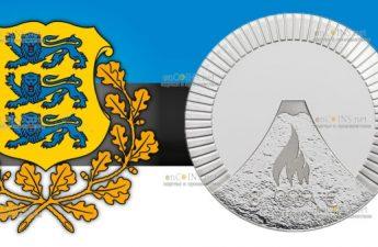 Эстония монетау 8 евро Летние Олимпийские Игры в Токио