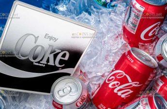 Фиджи монета 1 доллар Coca Cola