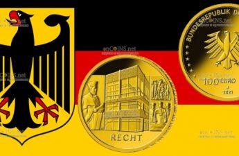 Германия монета 100 евро Закон