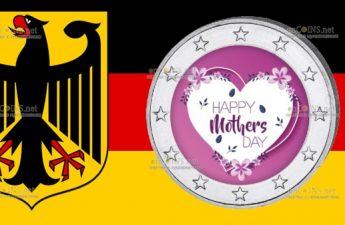 Германия монета 2 евро День Матери