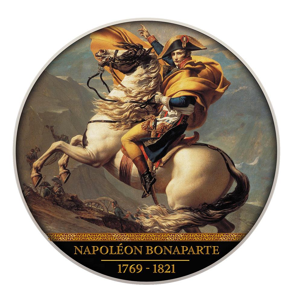 Камерун монета 500 франков Наполеон Бонапарт, реверс