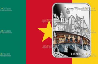 Камерун монетау 1000 франков Мост Понте-Веккьо