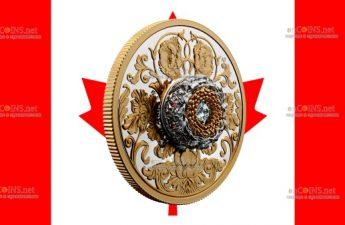 Канада монета 20 долларов Танцующий алмаз